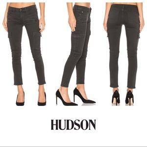 Hudson Colby Ankle Moto Skinny Cargo Jeans SZ 26